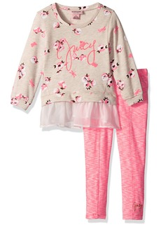 Juicy Couture Little Girls' Toddler 2 Piece Pant Set