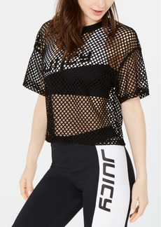 Juicy Couture Mesh Crop Top