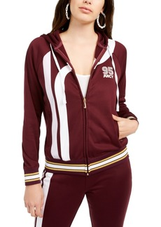 Juicy Couture Cotton Side-Stripe Track Jacket