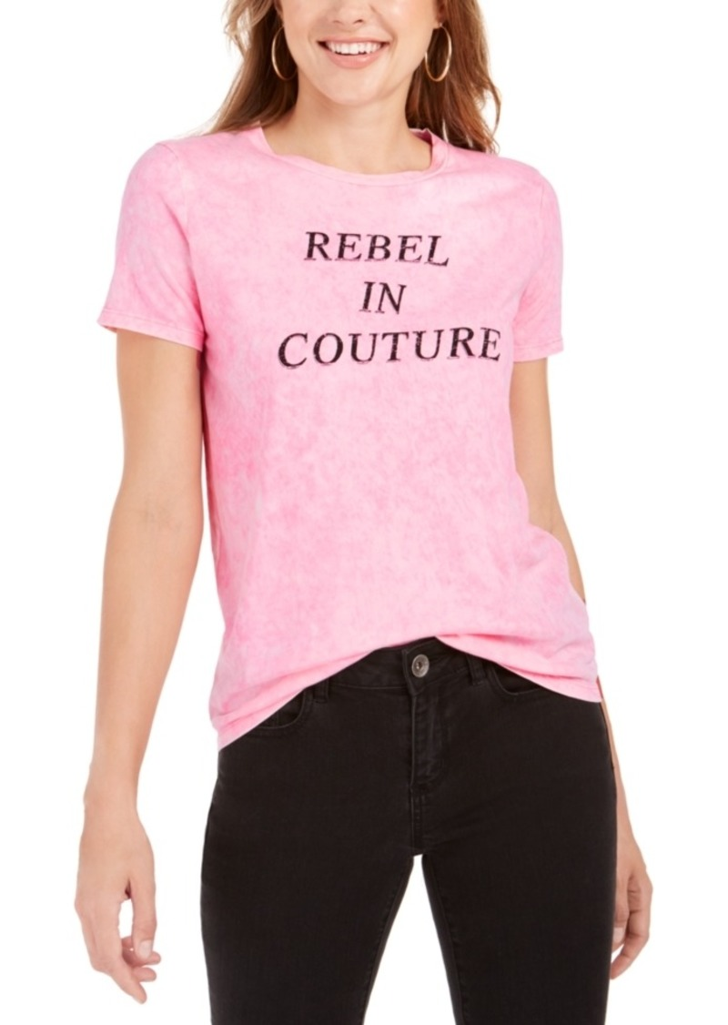 Juicy Couture Rebel Cotton Graphic-Print T-Shirt