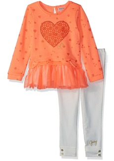 Juicy Couture Toddler Girls' 2 Pieces Long Sleeves Tunic Set
