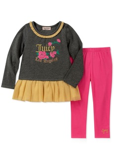 Juicy Couture Toddler Girls' 2 Pieces Tunic Legging Set