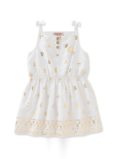 Juicy Couture Toddler Girls' Patterned and Solid Scuba Dress