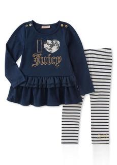 Juicy Couture Toddler Girls' Tunic Legging Set