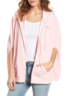 Juicy Couture Velour Cape Hoodie