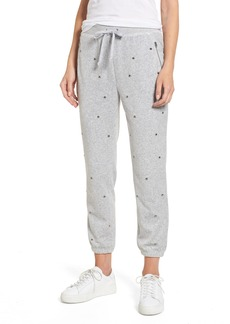 Juicy Couture Velour Studded Track Pants