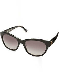 Juicy Couture Women's Ju 587/s Square Sunglasses BLACK HAVANA 53 mm