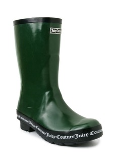 Juicy Couture Women's Totally Logo Rainboots Women's Shoes