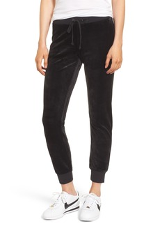 Juicy Couture Zuma Velour Jogger Pants