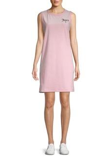 Juicy Couture Juicy Emblem Velour Dress
