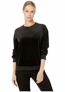 Juicy Couture Juicy Embossed Velour Pullover