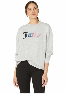 Juicy Couture Juicy Mixed Gothic French Terry Pullover