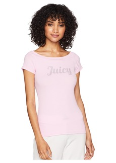 Juicy Couture Juicy Off the Shoulder Tee
