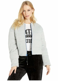 Juicy Couture Juicy Quilted Terry Track Jacket