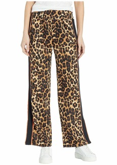 Juicy Couture Leopard Tricot Wide Leg Pants