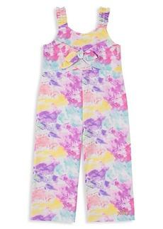 Juicy Couture Little Girl's Tie-Dye Jumpsuit
