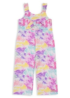 Juicy Couture Little Girl's Tie-Dyed Jumpsuit