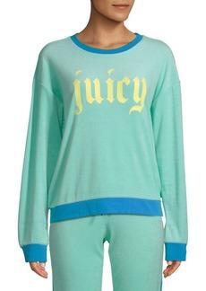 Juicy Couture Logo Roundneck Sweatshirt