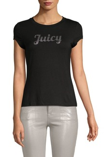 Juicy Couture Logo Roundneck Tee