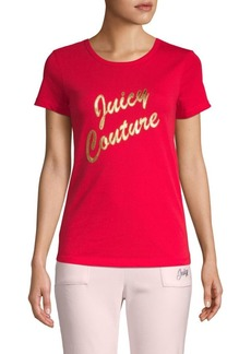 Juicy Couture Logo Short-Sleeve Tee