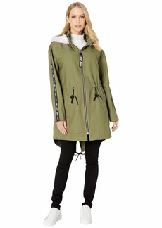 Juicy Couture Long Parka with Faux Fur Hood