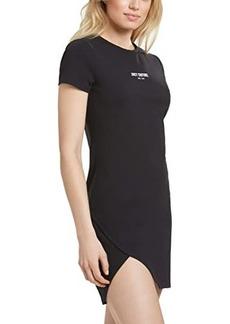Juicy Couture Overlap Hem Tee Dress