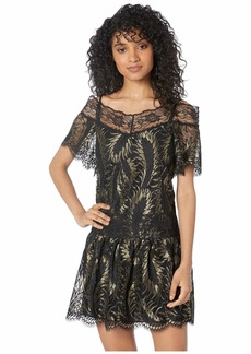 Juicy Couture Petrel Lurex Lace Dress