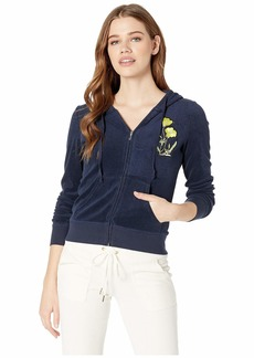 Juicy Couture Pretty Thing Microterry Robertson Jacket