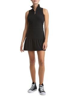 Juicy Couture Ruffle Half-Zip Tennis Dress