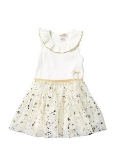 Juicy Couture Ruffle Neck Tank Dress (Little Girls)