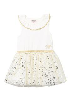 Juicy Couture Ruffle Neck Tank Dress (Toddler Girls)
