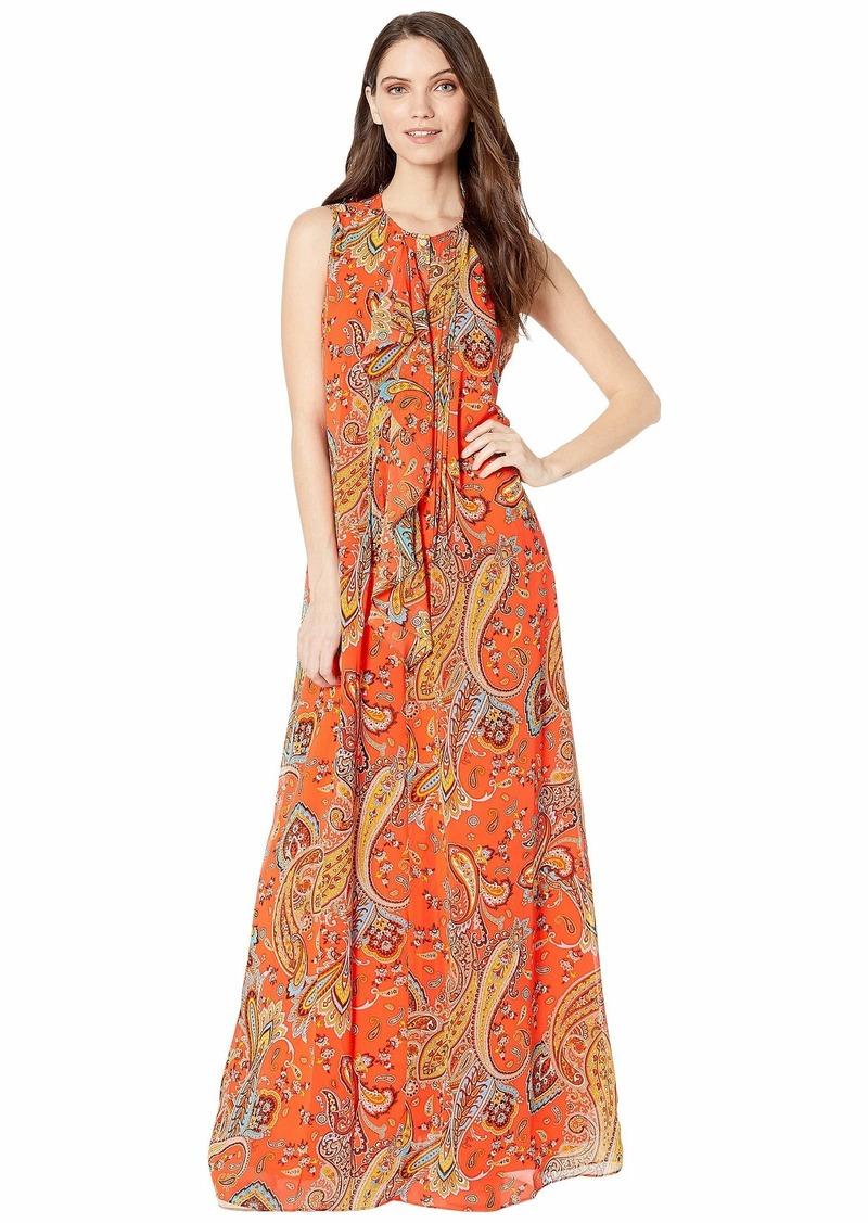 Rustic Paisley Maxi Dress