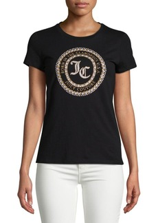 Juicy Couture Seal of Couture Class Cotton Tee