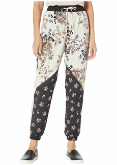 Juicy Couture Secret Garden Floral Nylon Track Pants