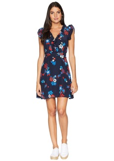 Juicy Couture Silk Hayworth Floral Flirty Dress