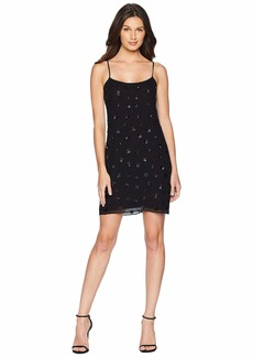 Juicy Couture Soft Woven Floral Sequined Slip Dress