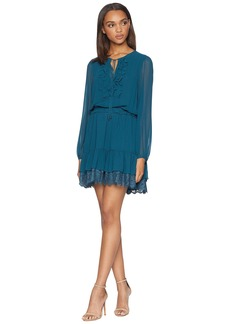 Juicy Couture Solid Ruffle Flirty Dress