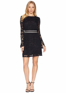 Juicy Couture Stevie Lace Dress w/ Embroidery