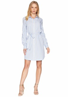 Juicy Couture Stripe Cotton Shirtdress