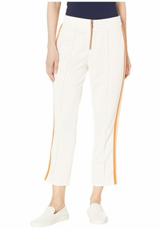 Juicy Couture Stripe Tricot Cropped Track Pants