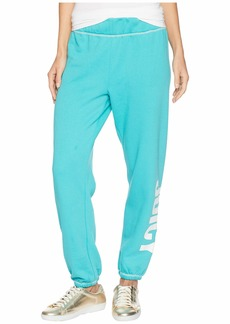 Juicy Couture Track Fleece Jogger Pants