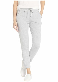 Juicy Couture Track Heathered Terry Studded Pants