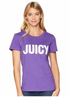 Juicy Couture Track Juicy Gothic Studs Short Sleeve Tee