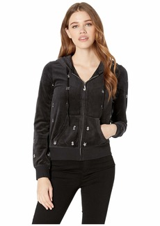 Juicy Couture Track Velour World Currency Robertson Jacket