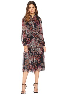 Juicy Couture Trendsetter Paisley Midi Dress