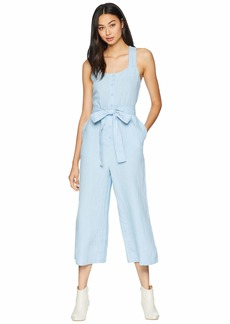 Juicy Couture Washed Linen Jumpsuit