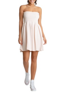 Women's Juicy Couture Heritage Strapless Terry Cloth Dress