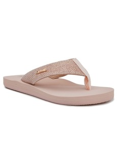 Juicy Couture Women's Smirk Flip-Flops Women's Shoes