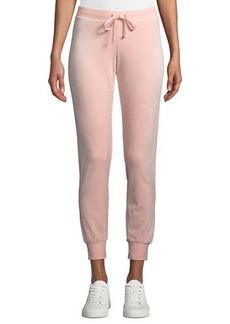 Juicy Couture Zuma Luxe Velour Track Pants