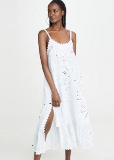 Juliet Dunn Printed Long Dress